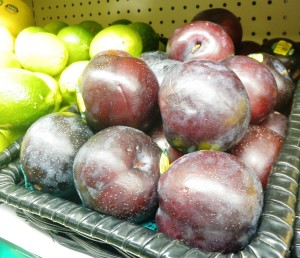 Pluots come in many colors, and are larger and sweeter than either apricots or plums.