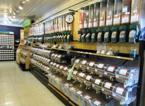 We have dozens of bulk items available at the Co-op.