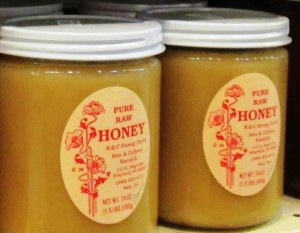 Raw honey is another source of digestive enzymes.