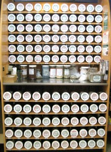We have a large selection of bulk herbs, sices, and teas.