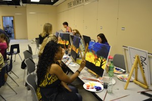 Painting the Town at Art Reach!